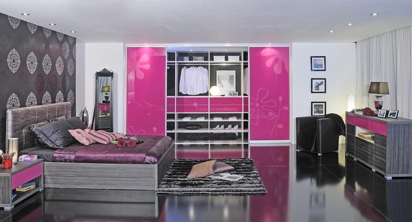 moderna spalnica po meri