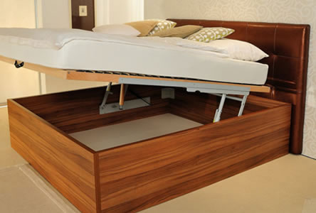 dvižni posteljni okvirji