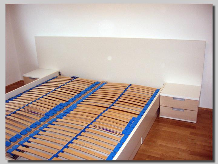 posteljni okvirji beli